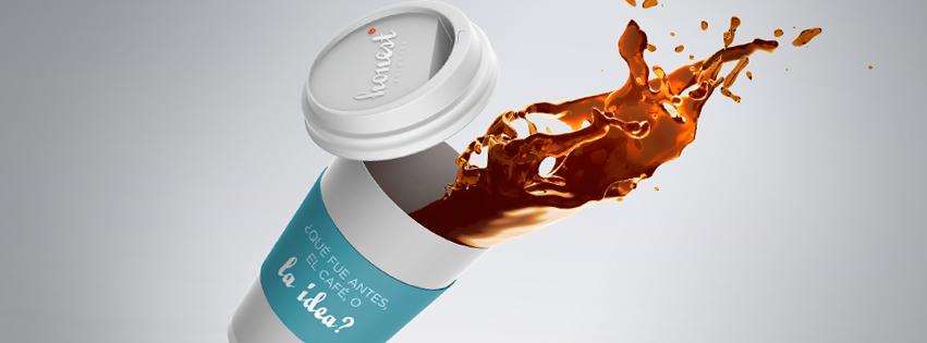 qué fue antes el café o la idea creatividad