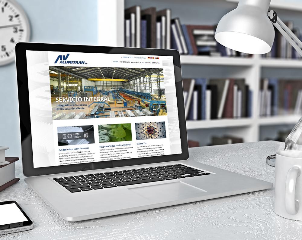 rediseño pagina web