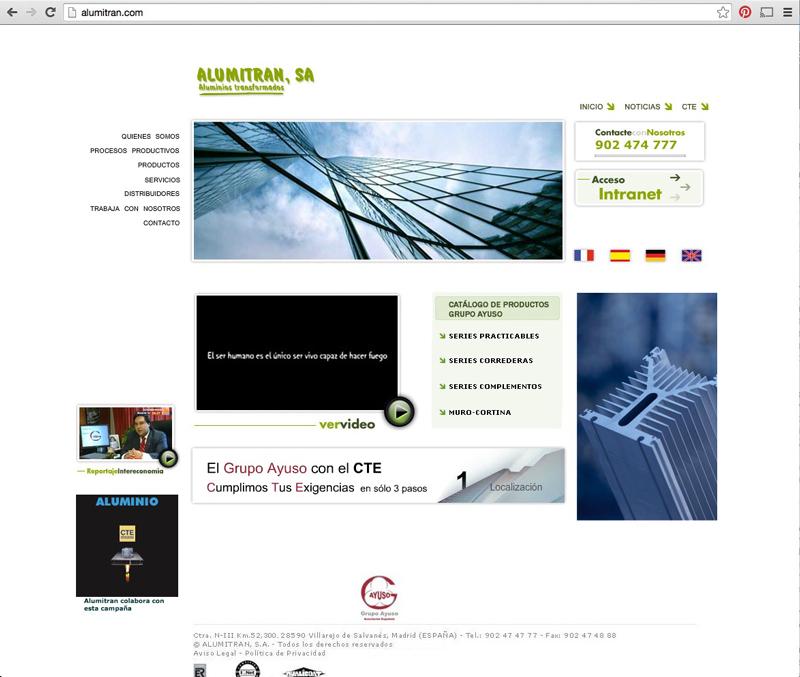rediseño portal web