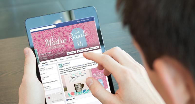 facebook diseño redes sociales