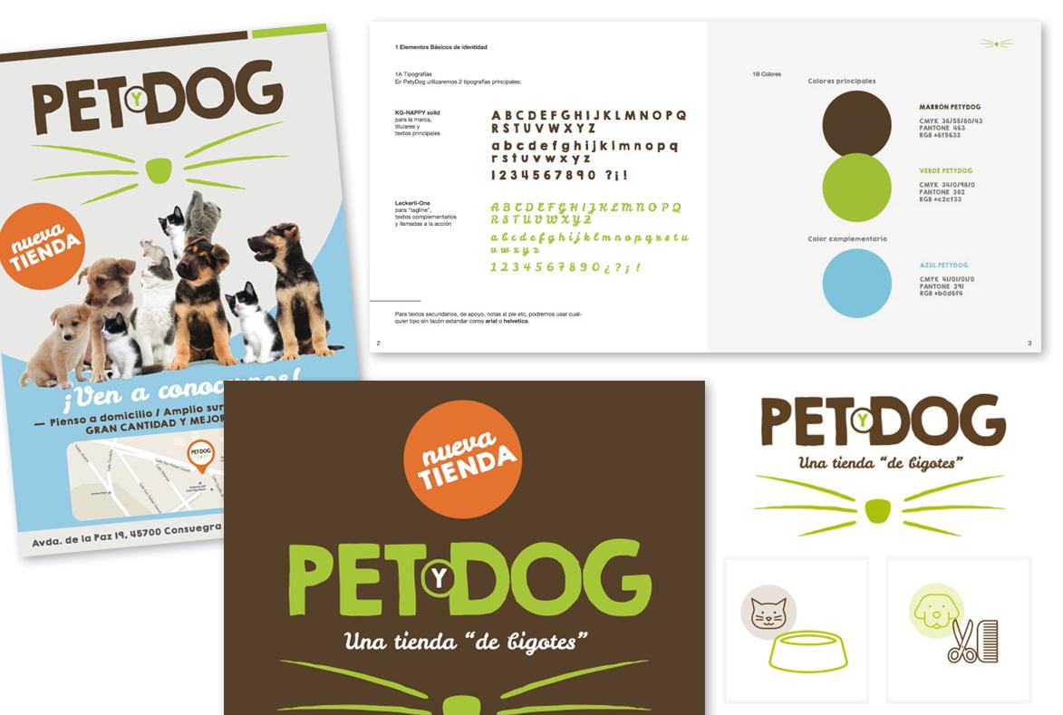 logotipo, flyers y manual identidad corporativa