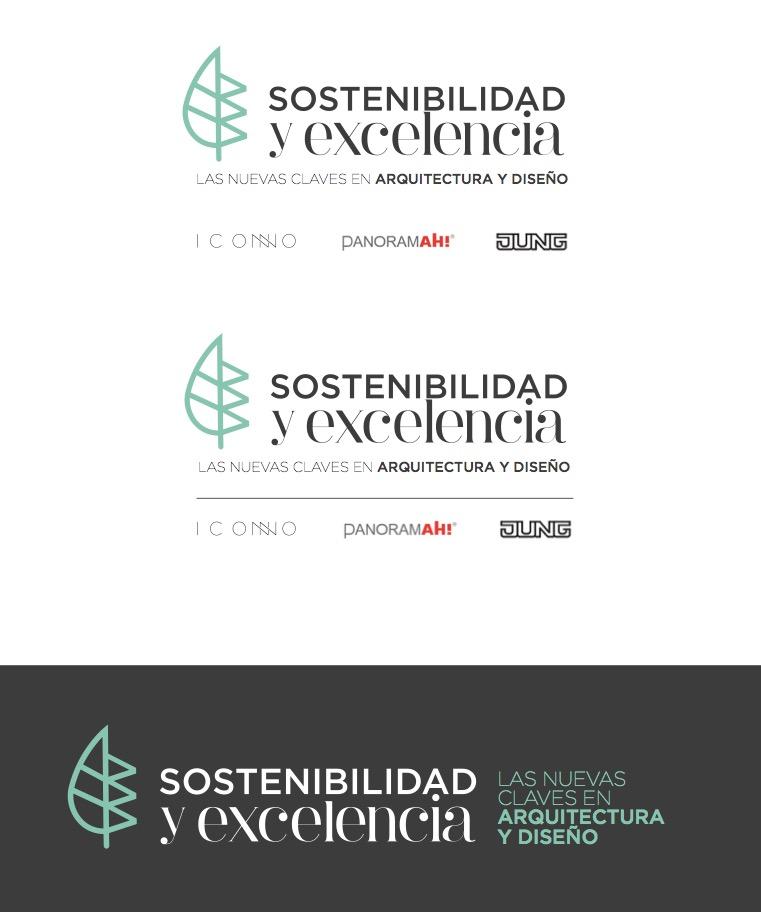 evolución diseño logotipo evento
