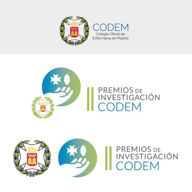 logotipo codem junto al de los premios de investigación